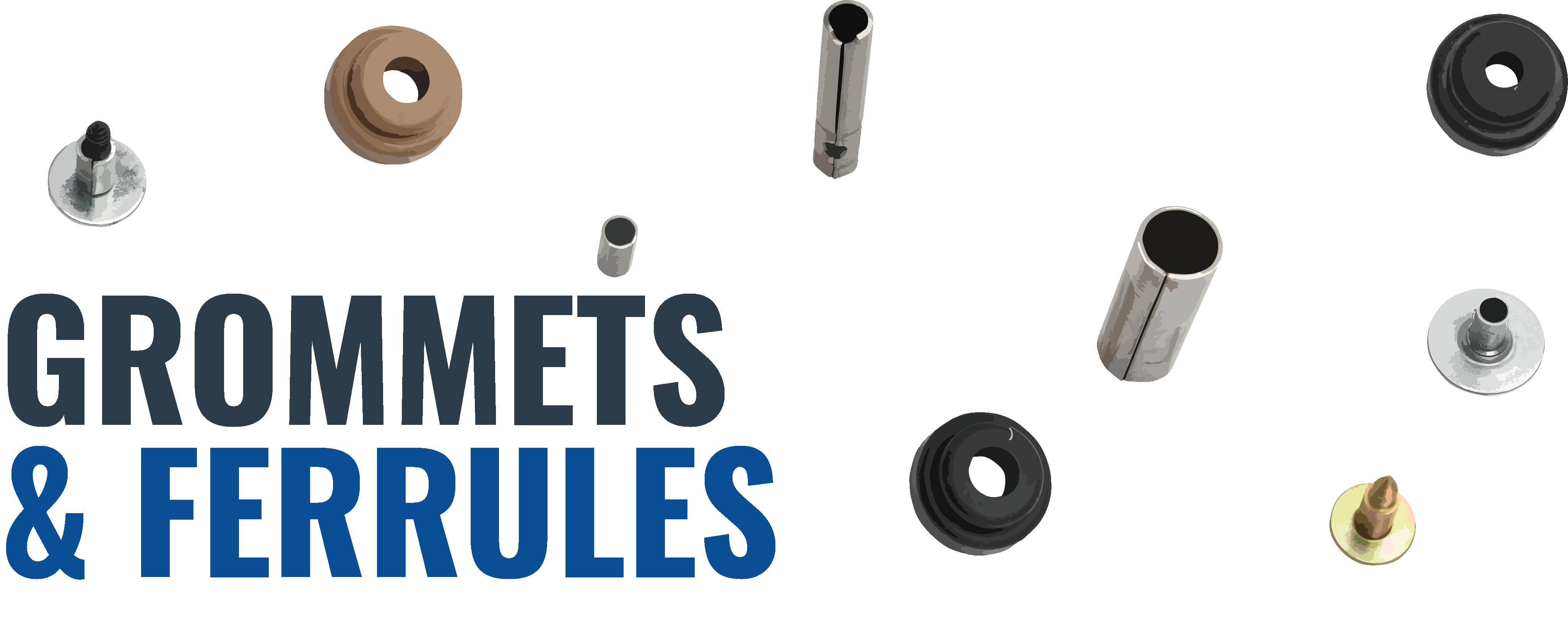 Rubber Grommet & Ferrule Options for Triangle's Motor Mount Bracket Arms