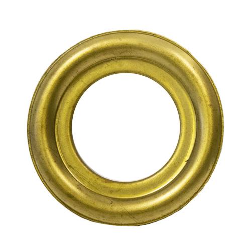 """Brass Round Lazy Susan Turntable Bearing, 22 Gauge - 3"""""""