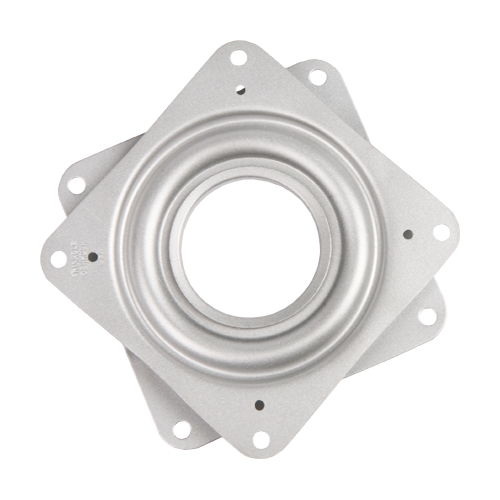 Steel Square Lazy Susan Turntable Bearing, 22 Gauge - 3""