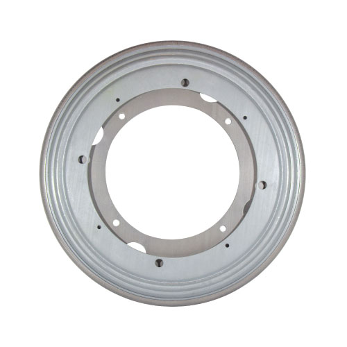 Steel Round Lazy Susan Turntable Bearing, 22 Gauge - 9""