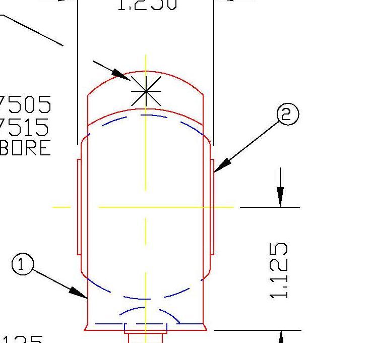 Clamshell Bearing AJH12A