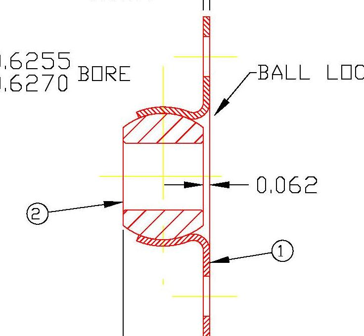 Flange Bearing FLB10