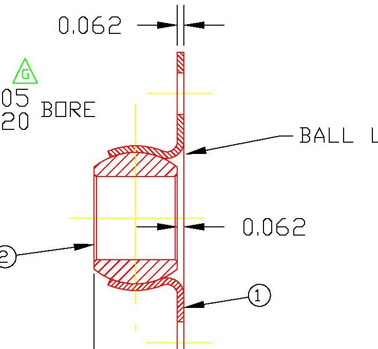 Flange Bearing FLB12