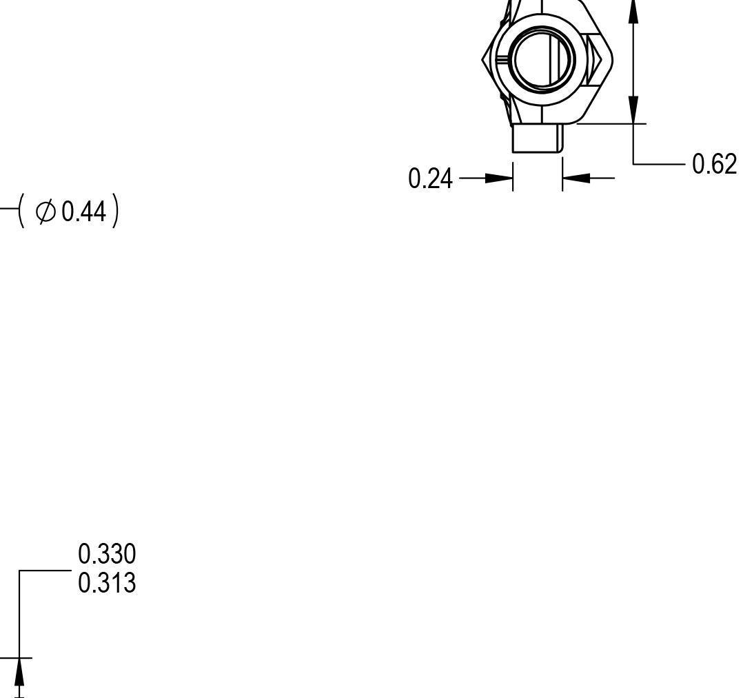 Spherical Rod End Bearing Heim Joint R05R11430