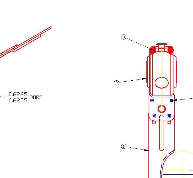 Spider Blower Bearing Bracket with Bearing TA7259