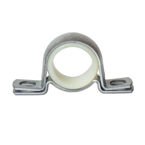 "Molded Nylon 2 Bolt Pillow Block Bearing, 16 Gauge  -   3/4 "", part number BDN12, BD Series, primary image"