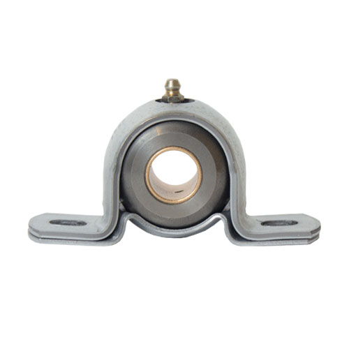 "Cast - Machined Iron 2 Bolt Pillow Block Bearing, 11 Gauge  -   3/4 "", part number BJT12G, BJ Series, primary image"