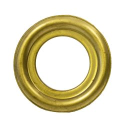 """Brass Round Lazy Susan Turntable Bearing, 22 Gauge  - 2"""", part number 3C6285, 3LS Series, primary image"""