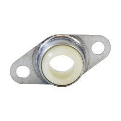 """Molded Nylon 2 Bolt Flange Bearing, 16 Gauge  -   3/4 """", part number FLM12, FL Series, primary image"""