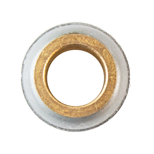 Stamped Steel Bearing Ball Sintered Bronze Bushing Spherical Plain Bearing, Unmounted -  7/8""
