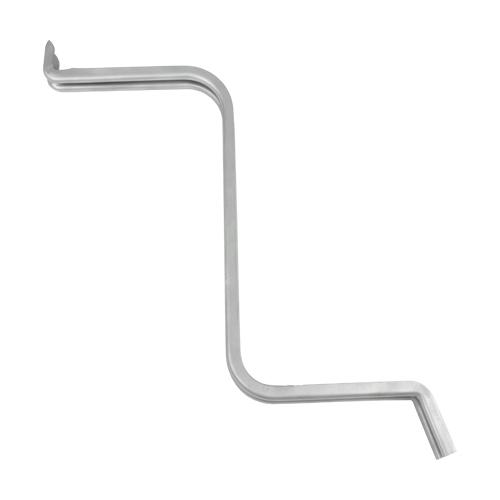 Steel S Shaped Motor Mount Arm, 16 Gauge
