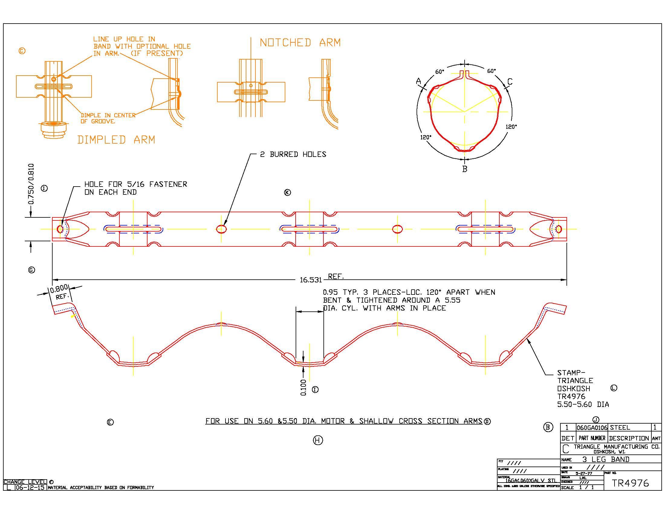 Motor Mount Band TR4976